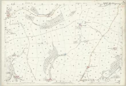Devon XXIV.3 (includes: Brompton Regis; Morebath; Skilgate) - 25 Inch Map