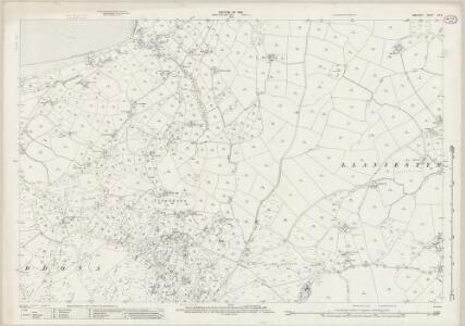 Anglesey XIV.8 (includes: Llanddona; Llaniestyn Rural; Llaniestyn Urban) - 25 Inch Map