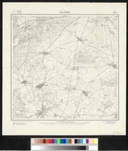 Meßtischblatt 1912 : Beerfelde, 1920