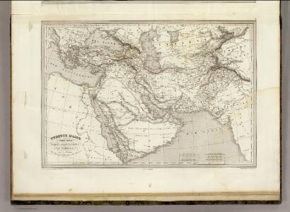 Turquie D'Asie,  Arabie, Perse.