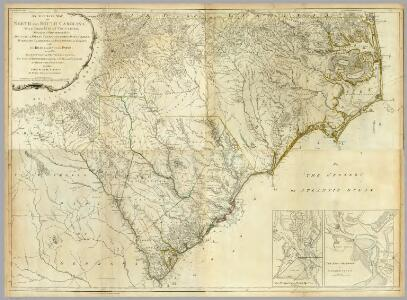 Composite: North & South Carolina.
