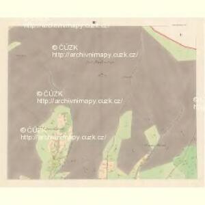 Unter Beczwa (Dolni Beczwa) - m0477-1-003 - Kaiserpflichtexemplar der Landkarten des stabilen Katasters