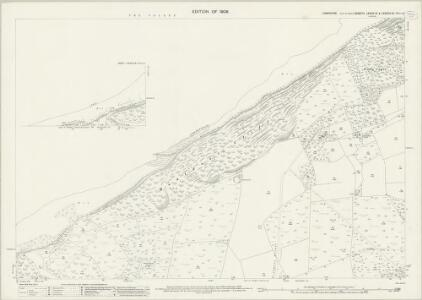 Hampshire and Isle of Wight LXXXIX.13 & LXXXVIII.16 (includes: Shalfleet) - 25 Inch Map