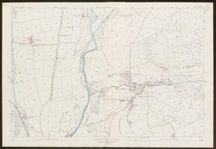 Devon XCVIII.13 (includes: Marytavy; Petertavy; Tavistock Hamlets) - 25 Inch Map