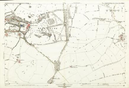 Gloucestershire LXXIII.11 (includes: Dyrham and Hinton; Marshfield; Tormarton) - 25 Inch Map