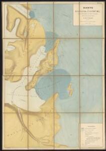 Karte der Karajak-Eisströme, ihres Nährgebietes und ihres Vorlandes