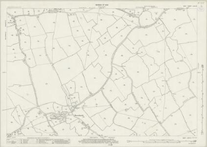 Kent LXXXI.3 (includes: Bonnington; Burmarsh; Newchurch) - 25 Inch Map