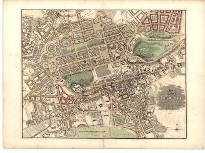 Plan of the City of Edinburgh, including all the latest and intended improvements.
