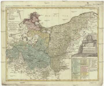 Der nördliche Theil des Ober-Sächsischen Kreises oder die Mark Brandenburg und das Herzogthum Pommern