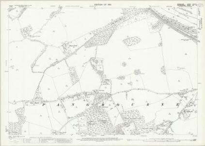 Berkshire XXVIII.11 (includes: Basildon; Bradfield; Pangbourne; Tidmarsh; Whitchurch) - 25 Inch Map