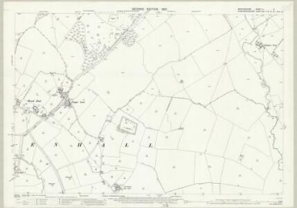 Bedfordshire V.6 (includes: Great Staughton; Kimbolton; Pertenhall) - 25 Inch Map