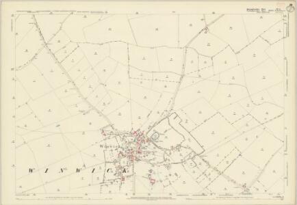 Huntingdonshire XII.8 (includes: Great Gidding; Luddington; Winwick) - 25 Inch Map