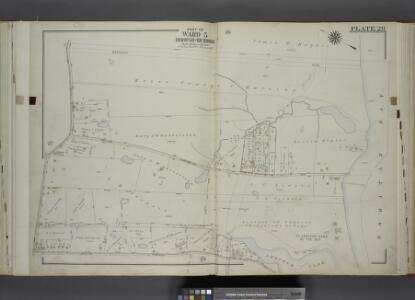 Part of Ward 5. [Map bound by Barclay Ave, Raritan    Bay, Poillon Ave (Harrison Ave), Arbutus Lake, Arbutus Ave (Broadway), Amboy     Road]