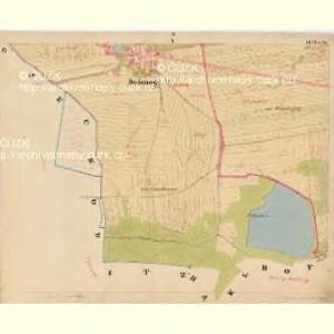 Baurowitz - c0079-1-005 - Kaiserpflichtexemplar der Landkarten des stabilen Katasters