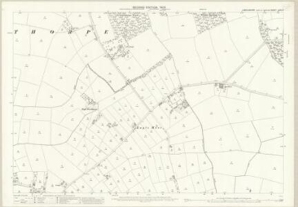 Lincolnshire LXIX.15 (includes: Doddington and Whisby; Eagle and Swinethorpe) - 25 Inch Map