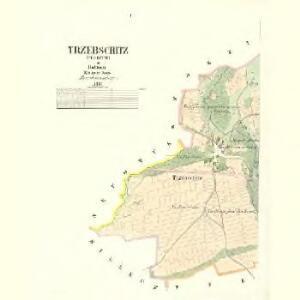 Trzebschitz (Třebčice) - c8012-1-001 - Kaiserpflichtexemplar der Landkarten des stabilen Katasters