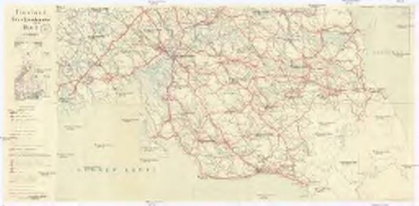 Finnland Straßenkarte
