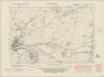 Cardiganshire XXXVIII.NW - OS Six-Inch Map