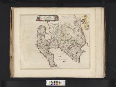 Gallovidiae, Pars Occidentalior, in qua Vicecomitatus Victoniensis cum Regalitate Glenucensi, [vulgo], The Sherifdome of Wigtoun wt the Regalitie of Glen-Luze, both in Galloway / auct. Timoth. Pont.