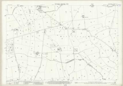 Shropshire XV.11 (includes: Hodnet; Prees) - 25 Inch Map