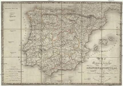 Das Königreiche Spanien und Portugal