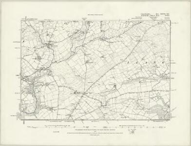 Carmarthenshire XXVIII.NW - OS Six-Inch Map