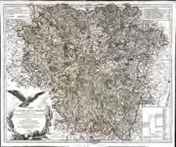 Carte de la Lorraine et du Barrois dans laquelle se trouvent la généralité de Metz et autres enclaves