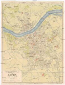 Grieben-Stadtplan von Linz an der Donau