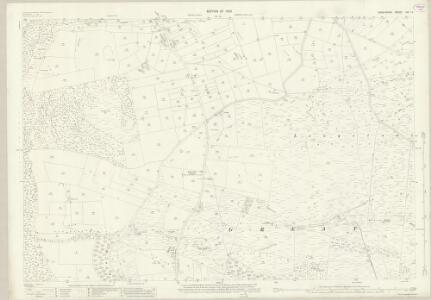 Derbyshire XVI.14 (includes: Great Longstone; Little Longstone; Litton; Wardlow) - 25 Inch Map