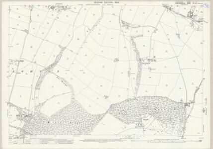 Shropshire LII.4 (includes: Boningale; Patshull; Wrottesley) - 25 Inch Map