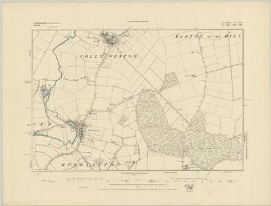 Northamptonshire VI.SE - OS Six-Inch Map