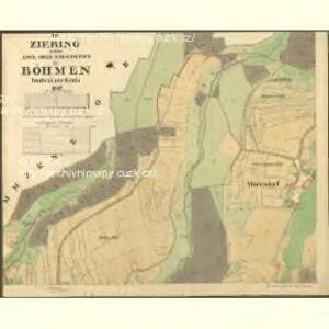 Ziering - c0943-1-001 - Kaiserpflichtexemplar der Landkarten des stabilen Katasters