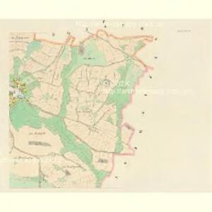 Hodiegau (Hoděgow) - c1921-1-002 - Kaiserpflichtexemplar der Landkarten des stabilen Katasters