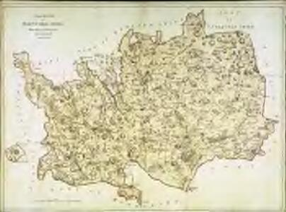 A topographical map of Hartford-Shire