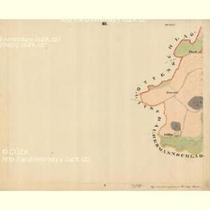 Beneschau - c0113-2-003 - Kaiserpflichtexemplar der Landkarten des stabilen Katasters