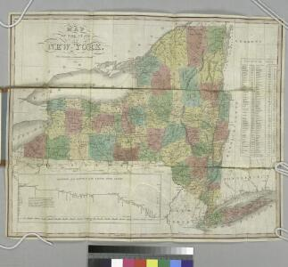 Map of the State of New York / J.H. Young.