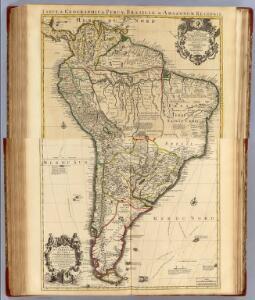 Composite: Terre Ferme, Perou, Bresil, Amazones ; Paraguay, Chili.