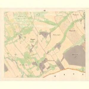 Alt Starzitz (Stary Stařic) - m2878-1-009 - Kaiserpflichtexemplar der Landkarten des stabilen Katasters