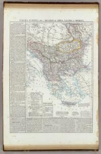Turchia Europea con i Principati di Servia, Valachia e Moldavia.