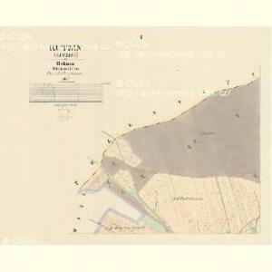 Kutzin (Kuczini) - c3683-1-001 - Kaiserpflichtexemplar der Landkarten des stabilen Katasters