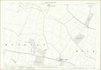 Gloucestershire XIII.4 (includes: Aston Somerville; Buckland; Dumbleton) - 25 Inch Map