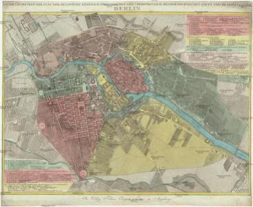 Neuer geometrischer Plan der gesammten königlich-preussischen und churfürstlich-brandenburgischen Haupt und Rezidnez Stadt Berlin