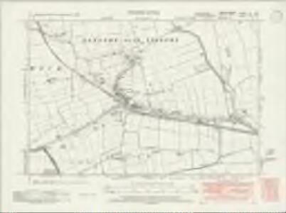 Lincolnshire LX.SE - OS Six-Inch Map