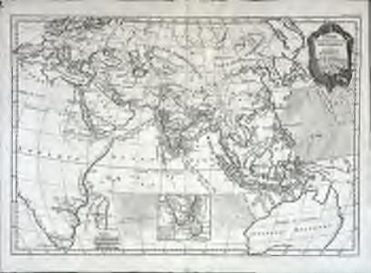 Carte pour servir a l'histoire philosophique et politique des etablissemens et du commerce des Europeens dans les deux Indes