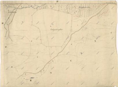 Katastrální mapa obce Maršovy Chody