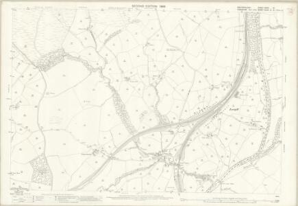 Westmorland XXXIV.12 (includes: Dillicar; Firbank; Grayrigg; Lambrigg; Sedbergh) - 25 Inch Map