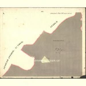 Stubenbach I. Theil - c6088-1-001 - Kaiserpflichtexemplar der Landkarten des stabilen Katasters