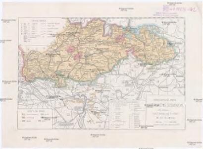 Národopisná mapa uherského Slovenska