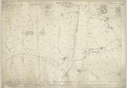 Suffolk LIV.16 (includes: Cockfield; Lawshall; Stanningfield) - 25 Inch Map