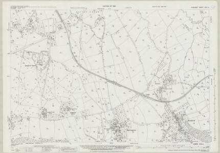 Somerset XVIII.2 (includes: Blagdon; Burrington; Churchill; Wrington) - 25 Inch Map